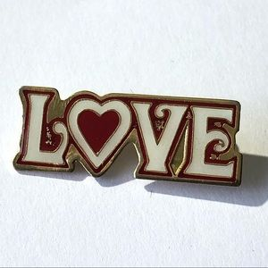Nothin but Love pin